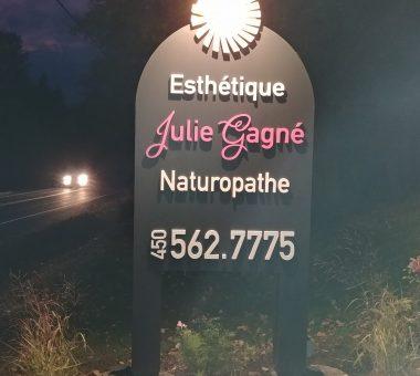 Esthetique Julie Gagne affiche